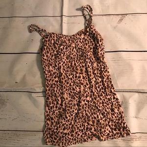Intimately Free People Cheetah Tank Top